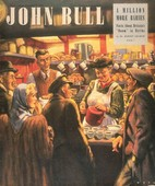 John Bull 1948 1940s UK restaurants stalls cafes drinks tea magazines