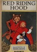 Red Riding Hood by Blackie 1910s UK childrenÕs Frank Adams