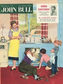 John Bull 1950s UK plumbers plumbing diy mending kitchens sinks magazines do it yourself family