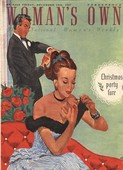 WomanÕs Own 1940s UK make-up makeup nails varnish late dating magazines
