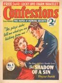 Confessions 1938 1930s UK arguing magazines