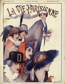 La Vie Parisienne  1915  1910s France cc womens hats
