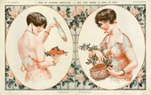 La Vie Parisienne 1927 1920s France cc cherries erotica mirrors