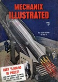 Mechanix Illustrated 1940s USA mcitnt rockets rockets visions of the future futuristic magazines