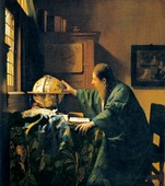 The Astronomer, 17th century artwork